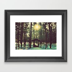 Until the Sun Doesn't Shine Framed Art Print