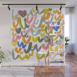 Abstract Letterforms 1 Wall Mural