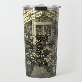 Mr. Normans Show-House for Orchids 1877 Travel Mug