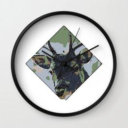 Deer Gr1 Wall Clock