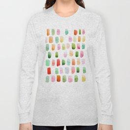 Watercolor brushstrokes Long Sleeve T-shirt