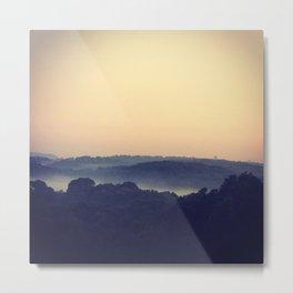 Brouillard Metal Print