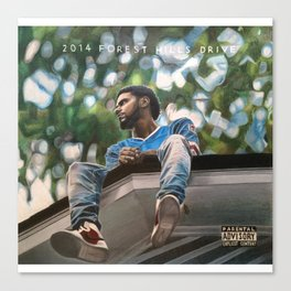 J.Cole 2014 Forest Hills Drive Drawing Canvas Print