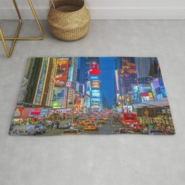 Times Square (Broadway) Rug