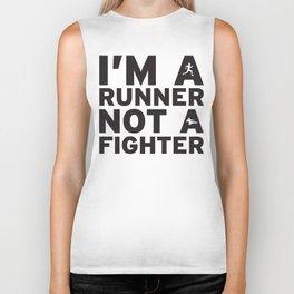 i'm a runner Biker Tank