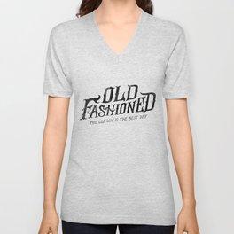 OLD FASHIONED Unisex V-Neck