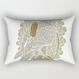 The eagle and the arr Rectangular Pillow