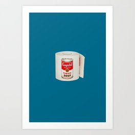 War Roll | Poop Art Art Print