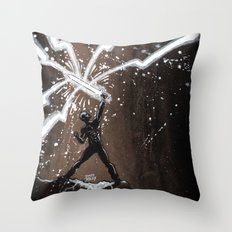 Epic Warrior Throw Pillow