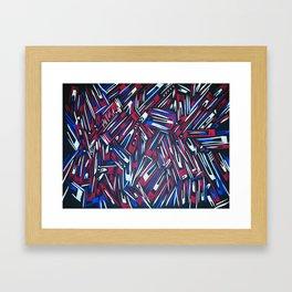 The King George Stripes Framed Art Print