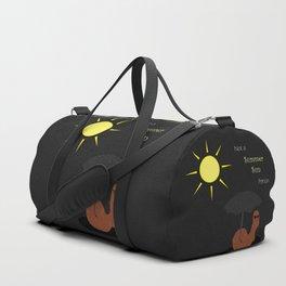 Not a Summer Sun Person Duffle Bag