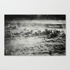 Somewhere Over The Clouds (IV Canvas Print