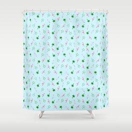 Flamingo Summer Shower Curtain