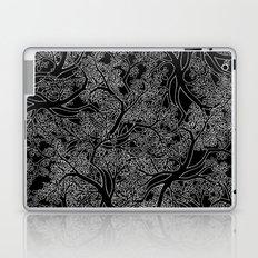 Tree Repeat Black Laptop & iPad Skin