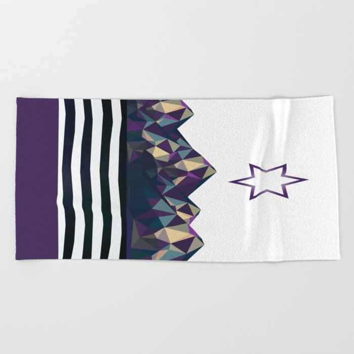 Silent Night Beach Towel