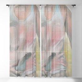 Wet Shirt Sheer Curtain