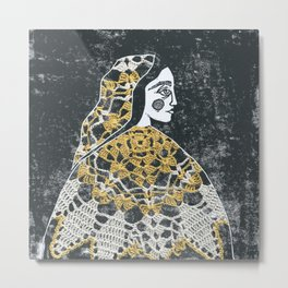 Wearing our past Metal Print