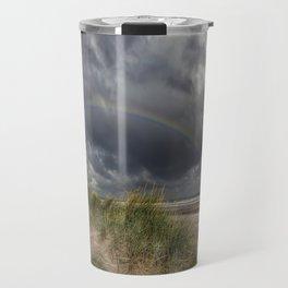 Rainbow Lighthouse Travel Mug