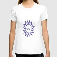 ohm T-shirts featuring Ohm Flower by Michelle_