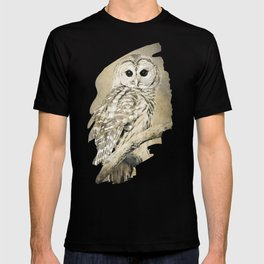 Sepia Owl T-shirt