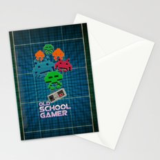Old School Gamer Stationery Cards