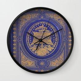 The Shipwreck Book Wall Clock