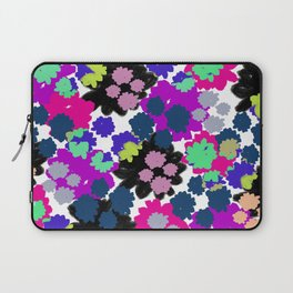 Overlayed blooms Laptop Sleeve