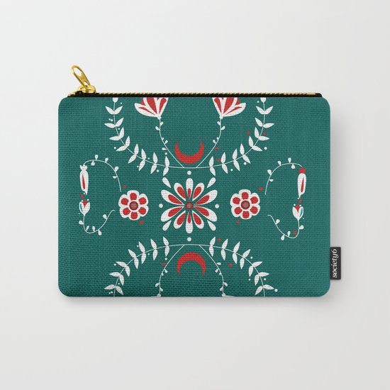 Botanic Esmerald Carry-All Pouch