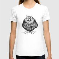 owl T-shirts featuring Owl Ball by Dave Mottram