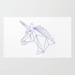Unicorn Blue-Purple Rug
