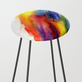 Rainbow Counter Stool