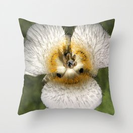 Mariposa Lily 3 Throw Pillow
