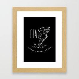 DFA Black Framed Art Print