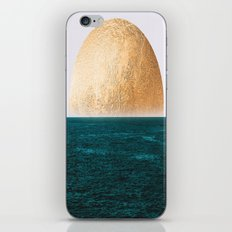 Gold Sunset iPhone & iPod Skin