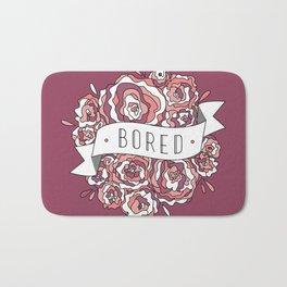 bored II Bath Mat