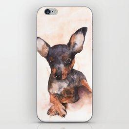 DOG #9 iPhone Skin