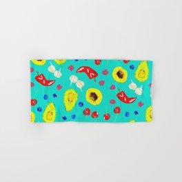 Food Medley Hand & Bath Towel