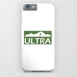 Ultra Running iPhone Case