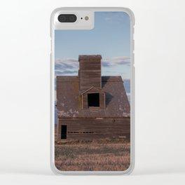 Grain Elevator 14 Clear iPhone Case