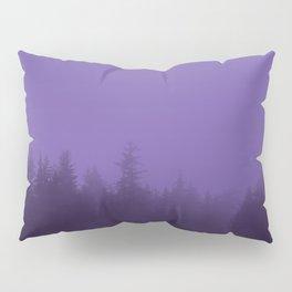 Licorice Forest with Ultra_Violet Fog, Alaska Pillow Sham