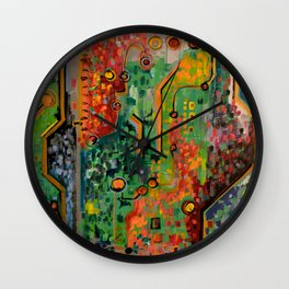 Interconnectedness Wall Clock