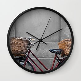 retro bicycle Wall Clock