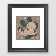 Mama, Mew...Mew... Framed Art Print