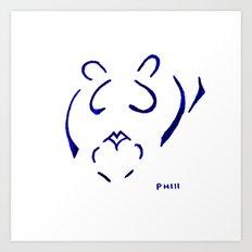 Heart´s Lion Art Print