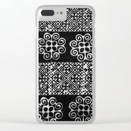 Batik hmong Clear iPhone Case