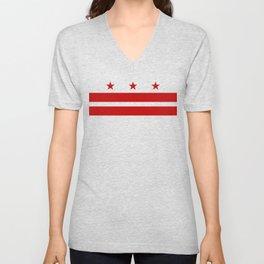 Washington DC Unisex V-Neck