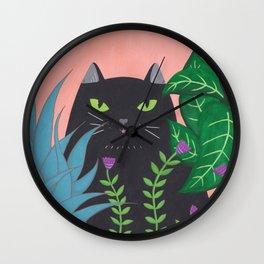 Jungle Cat Wall Clock