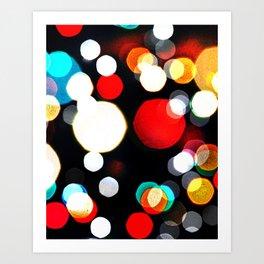 Lights of Midnight Art Print
