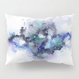 Blue nebula Pillow Sham