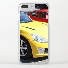 Opel GT Classic Sports Cars Clear iPhone Case